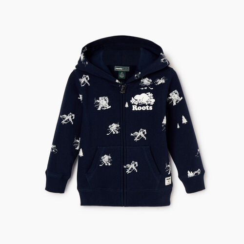 Roots-Kids Our Favourite New Arrivals-Toddler Hockey Aop Full Zip Hoody-Navy Blazer-A