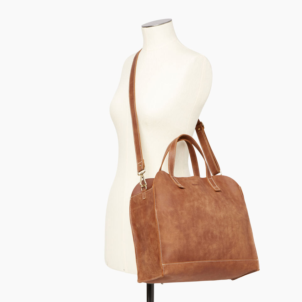 Roots-Leather Our Favourite New Arrivals-Junction Tote-Natural-B