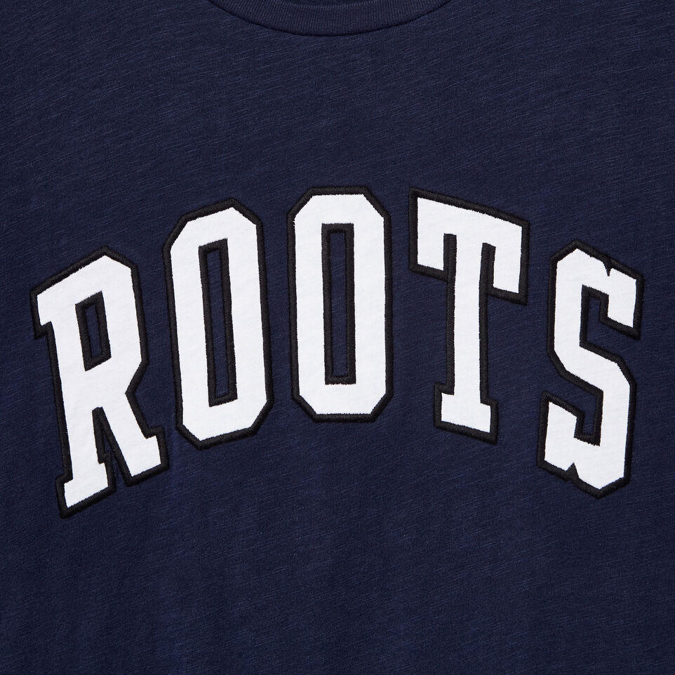 Roots-undefined-Mens Roots Arch T-shirt-undefined-D