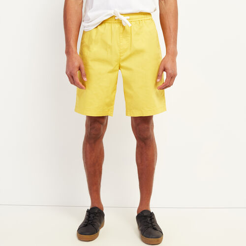 Roots-Men New Arrivals-Wasaga Pull On Short-Amber Yellow-A