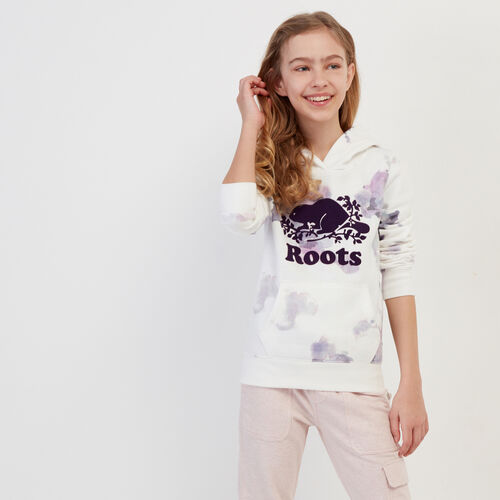 Roots-Kids Our Favourite New Arrivals-Girls Original Kanga Hoody-Multi-A