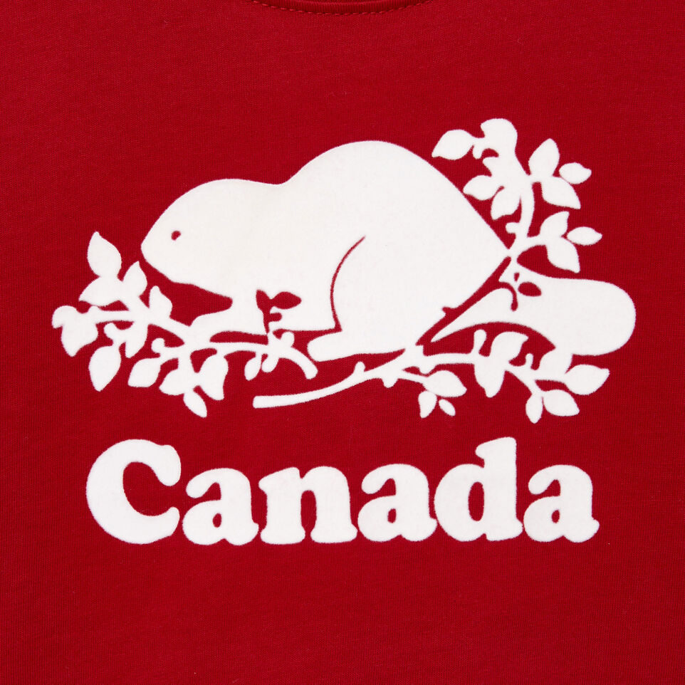 Roots-Kids Our Favourite New Arrivals-Toddler Canada T-shirt-Sage Red-D