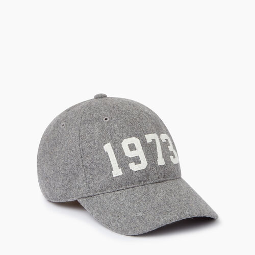 Roots-Clearance Last Chance-1973 Baseball Cap-Grey Mix-A