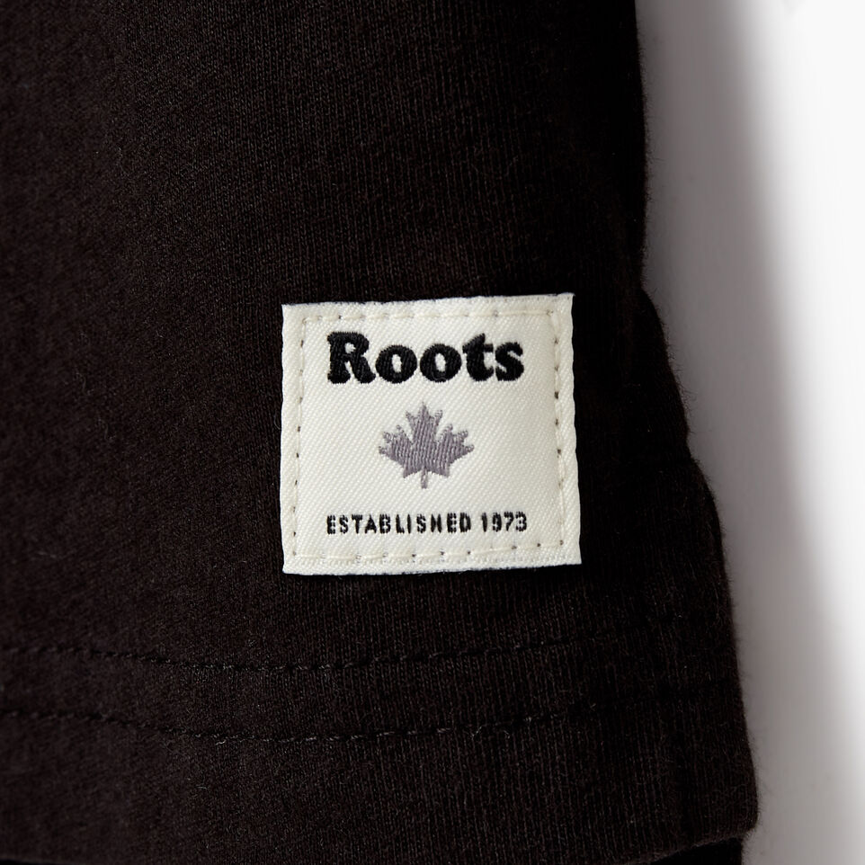 Roots-Kids Tops-Toddler 2.0 T-shirt-Black-C