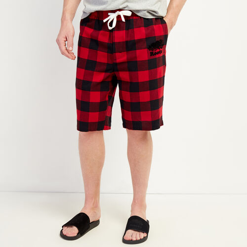 Roots-Men Clothing-Inglenook Lounge Short-Cabin Red-A