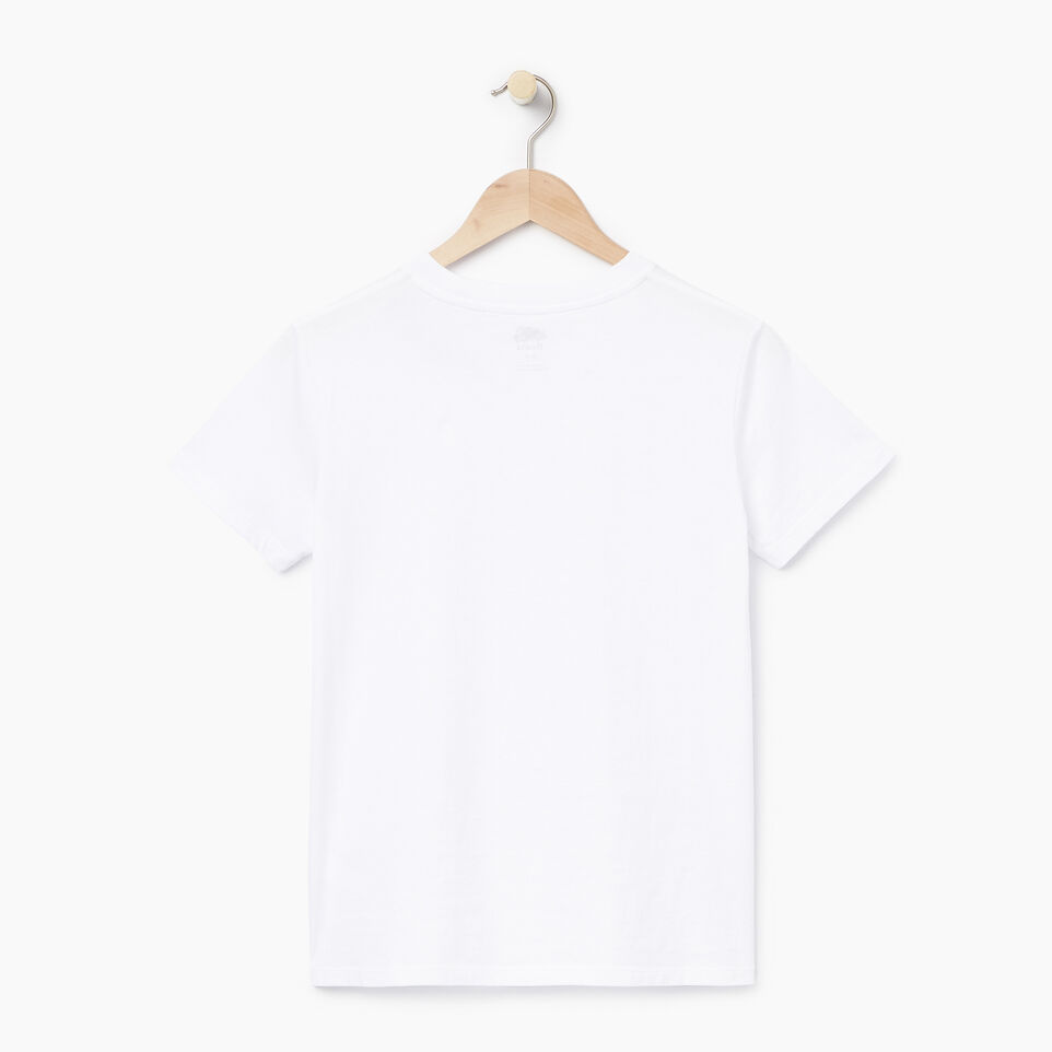 Roots-New For July Daily Offer-Womens Communication T-shirt-Crisp White-B