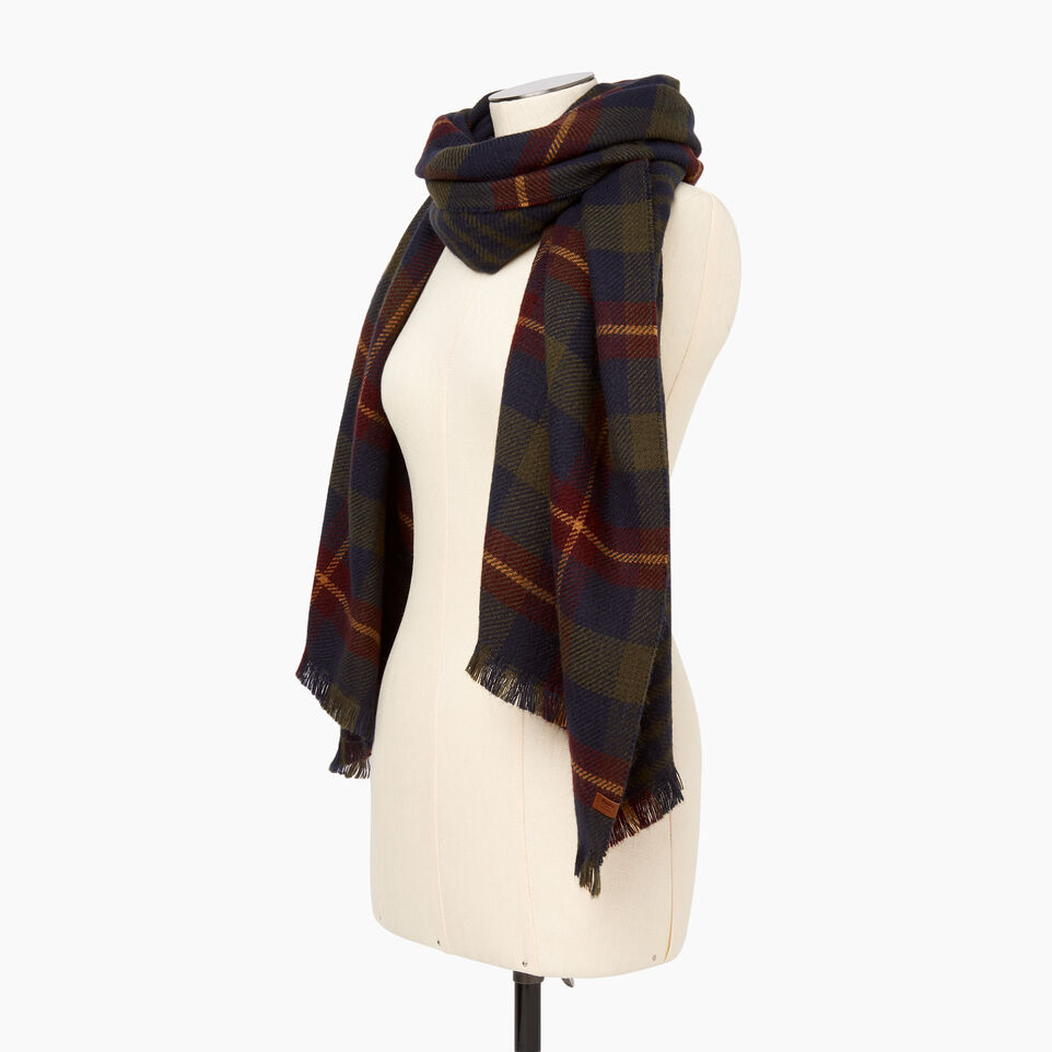 Roots-Women Categories-Cumberland Scarf-Navy-C