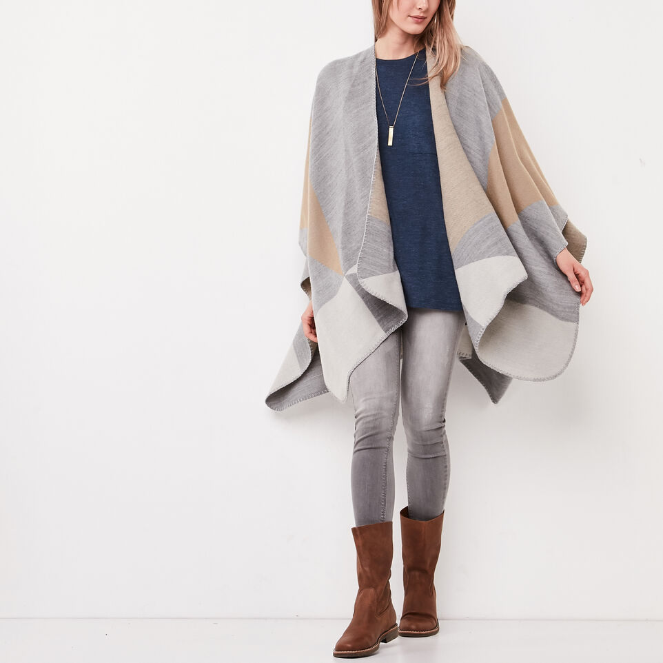 Roots-undefined-Loren Blanket Wrap-undefined-A