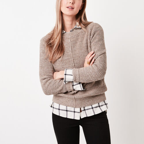 Roots-Sale Jackets & Sweaters-Ridgeview Sweater-Oatmeal Mix-A