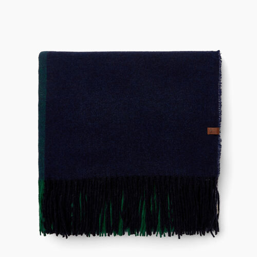 Roots-Women Scarves & Wraps-Lockeport Scarf-Navy Blazer-A