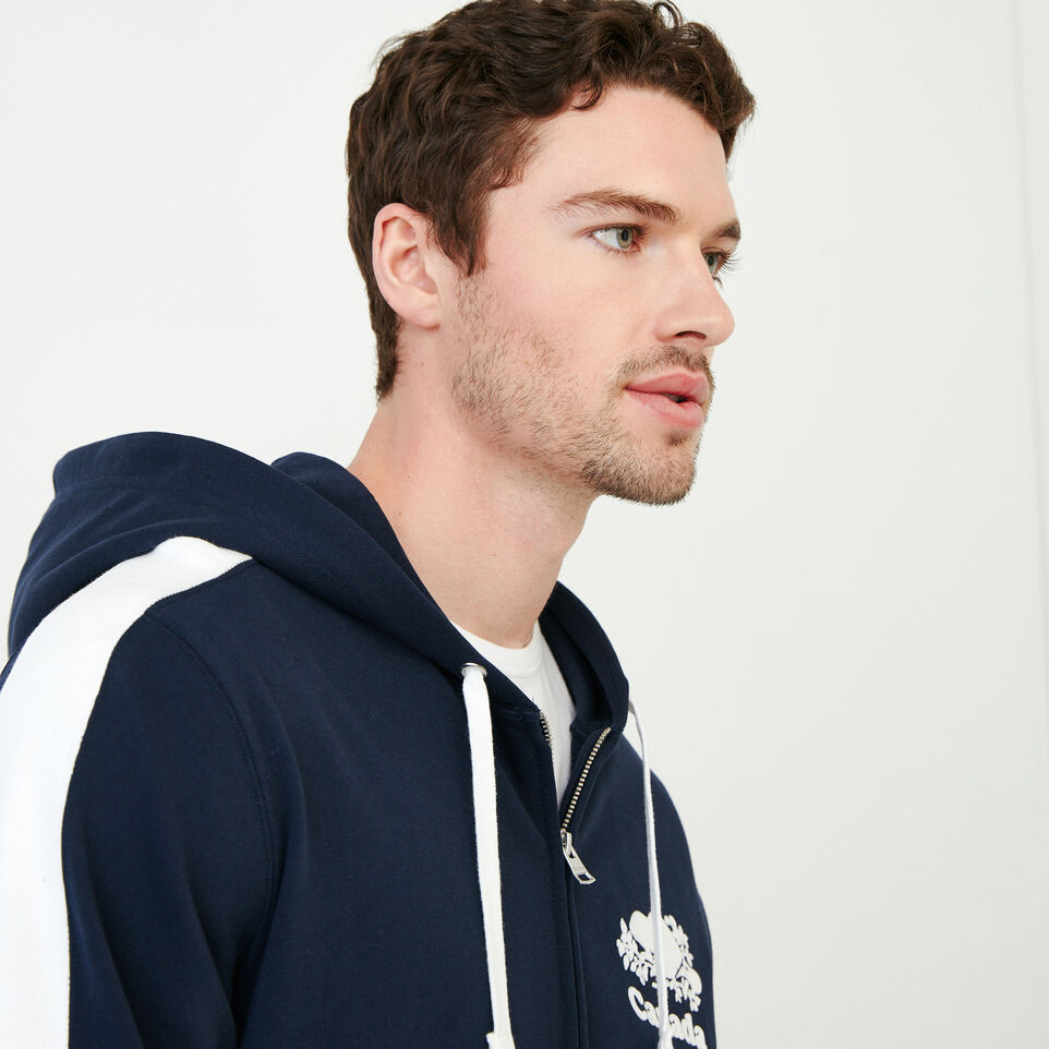 Roots-New For June Canada Collection By Roots™-Canada Zip Hoody-Navy Blazer-E