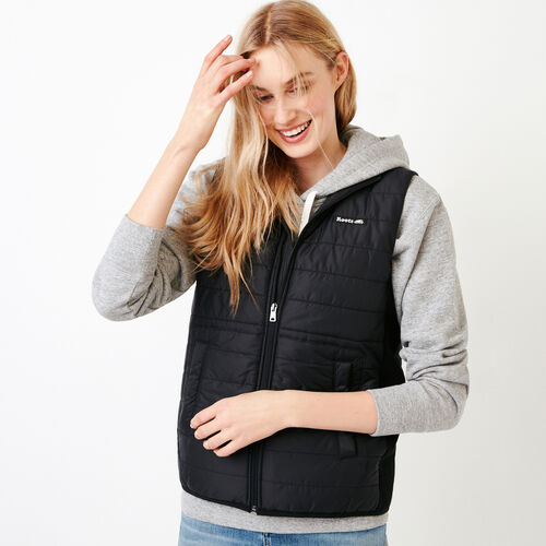 Roots-Women Our Favourite New Arrivals-Roots Hybrid Vest-Black-A