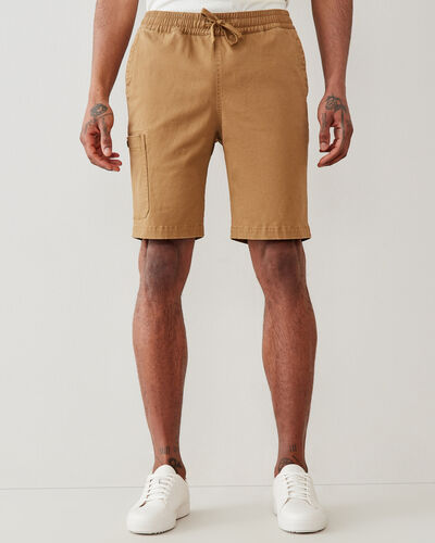 Roots-Men Clothing-Utility Short 9.5 In-Butternut-A
