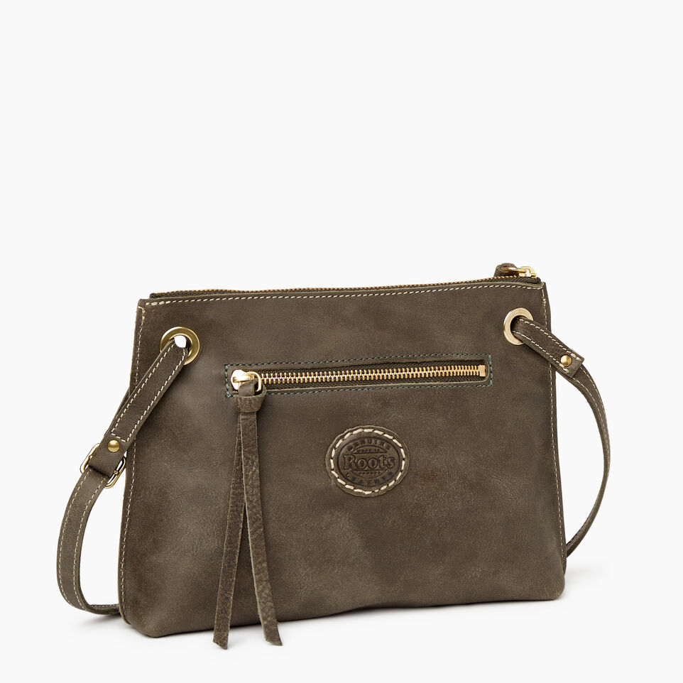 Roots-Leather New Arrivals-Edie Bag-Pine-C