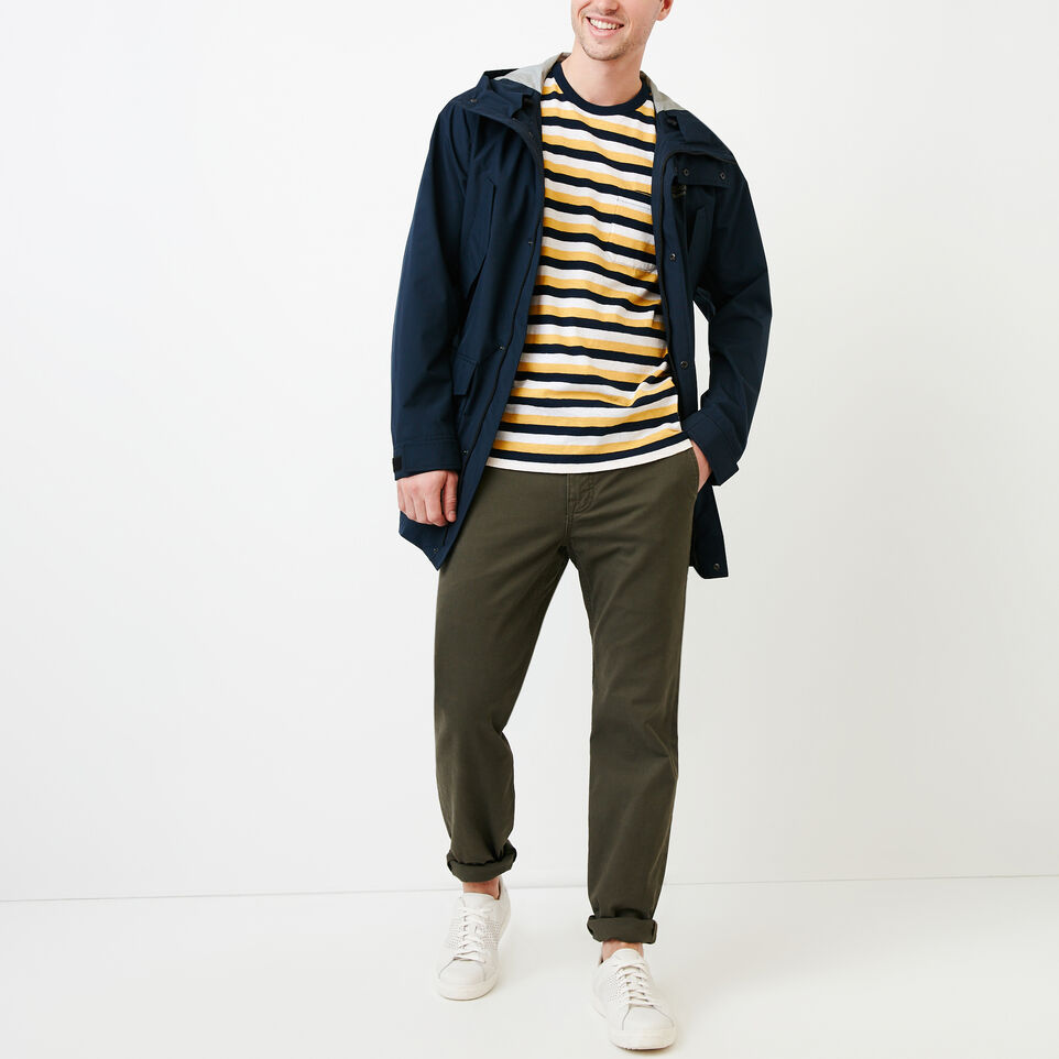 Roots-undefined-Striped Pocket T-shirt-undefined-B