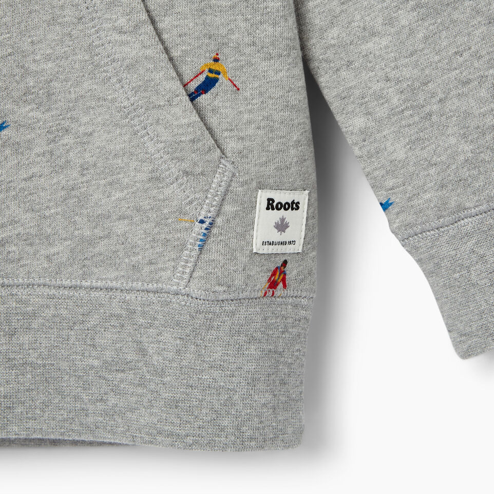 Roots-Kids Our Favourite New Arrivals-Toddler Skier Kanga Hoody-Grey Mix-D