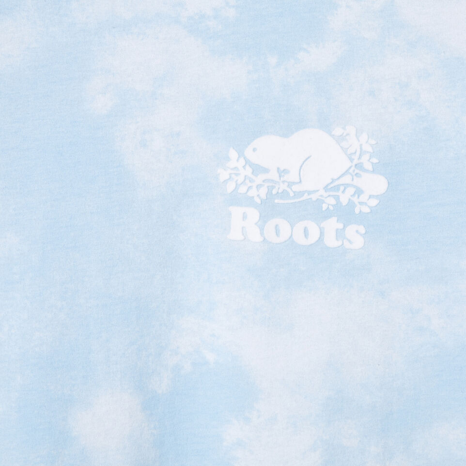 Roots-New For March Daily Offer-Womens Moncton T-shirt-Baby Blue-D