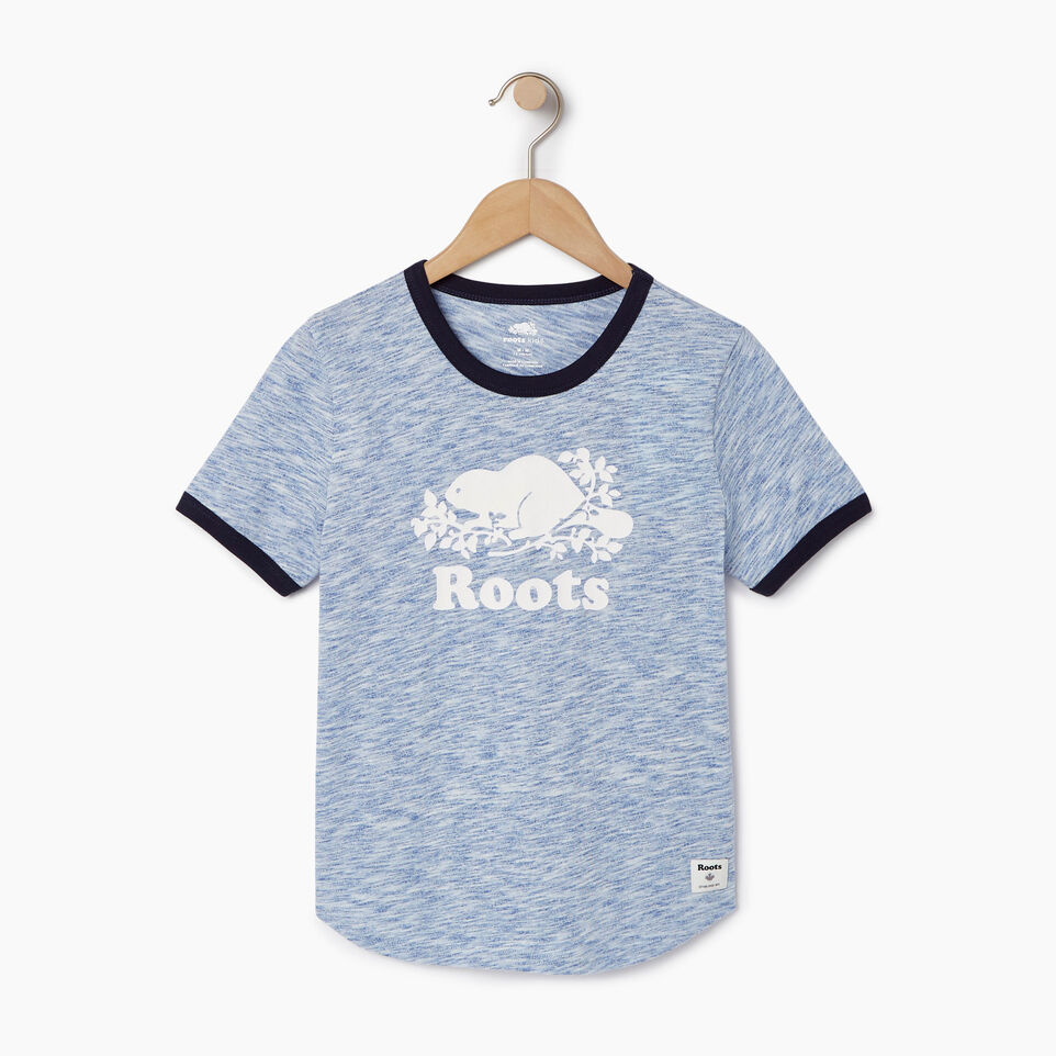 Roots-undefined-Boys Roots Space Dye T-shirt-undefined-A