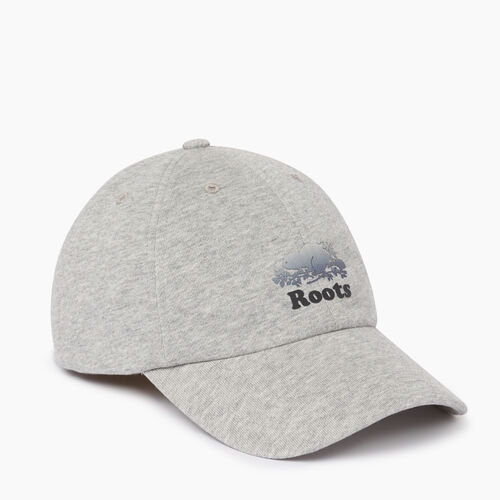 Roots-Men Accessories-Cooper Chroma Baseball Cap-Grey Mix-A