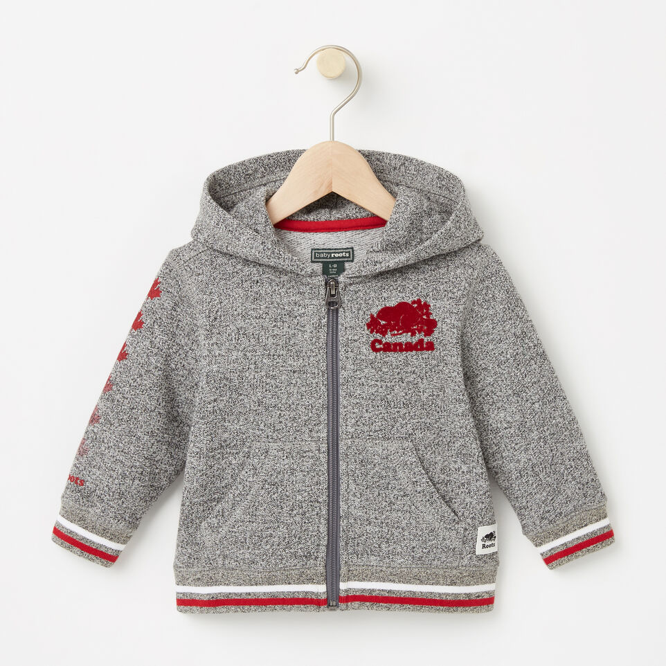 Roots-undefined-Baby CanadaFull Zip Hoody-undefined-A