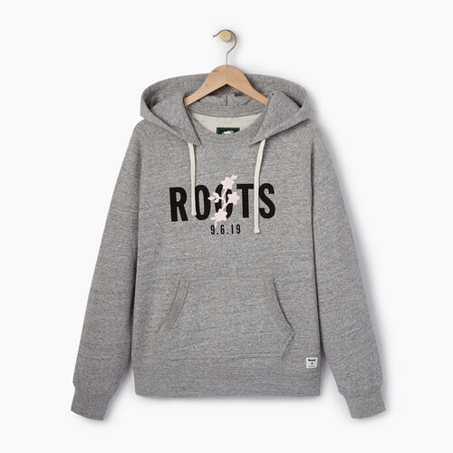 Roots-New For December Roots X Shawn Mendes: Limited-edition Capsule Collection-Roots x Shawn Mendes Hoody-Grey Pepper Mix-A