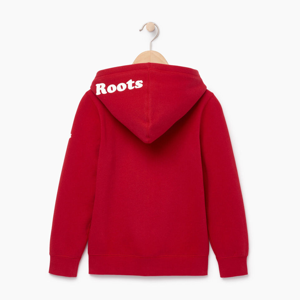 Roots-Kids Our Favourite New Arrivals-Boys Canada Full Zip Hoody-Sage Red-B
