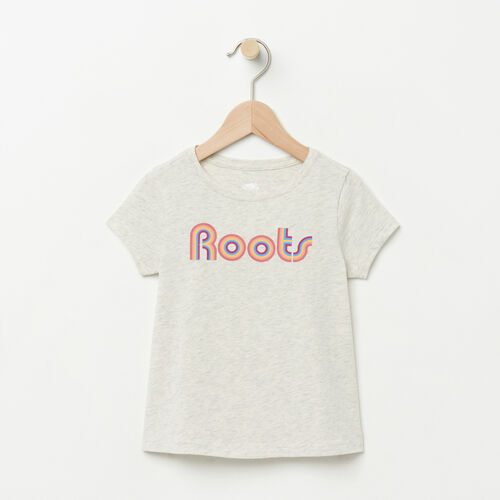 Roots-Winter Sale Toddler-Toddler Swing T-shirt-White Grey Mix-A