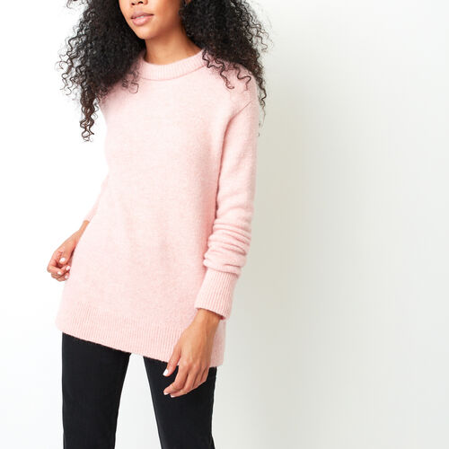 Roots-Women Sweaters & Cardigans-Kenora Crew Sweater-Lilas-A