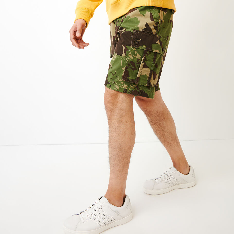 Roots-undefined-Burlington Camo Cargo Short-undefined-C