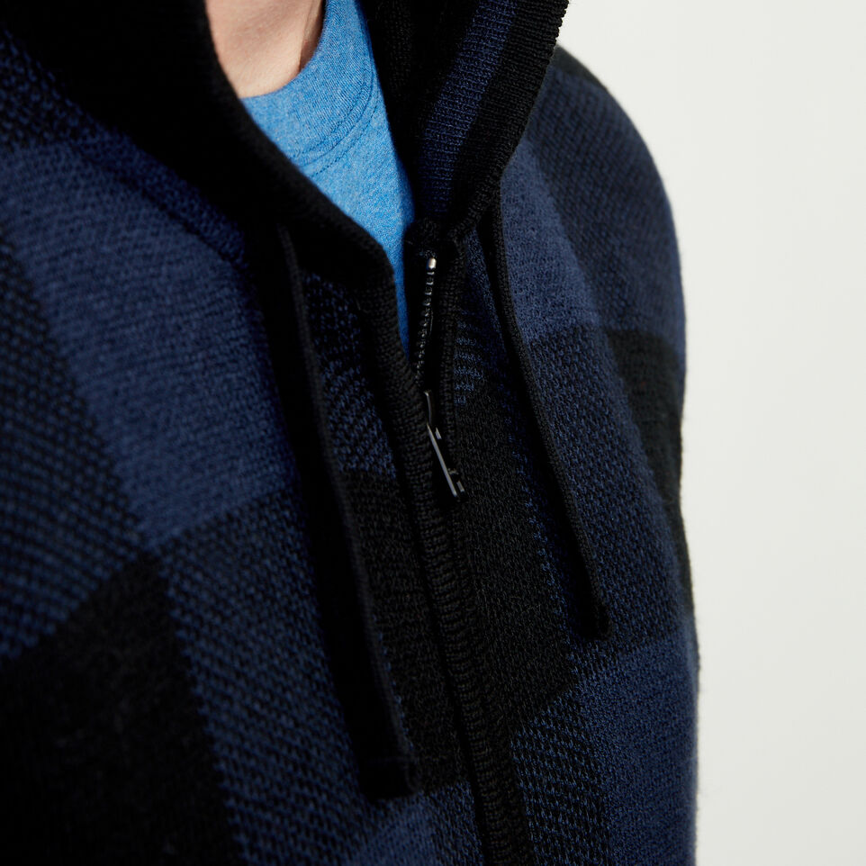 Roots-Winter Sale Men-Manitou Hooded Sweater-Navy Blazer-E