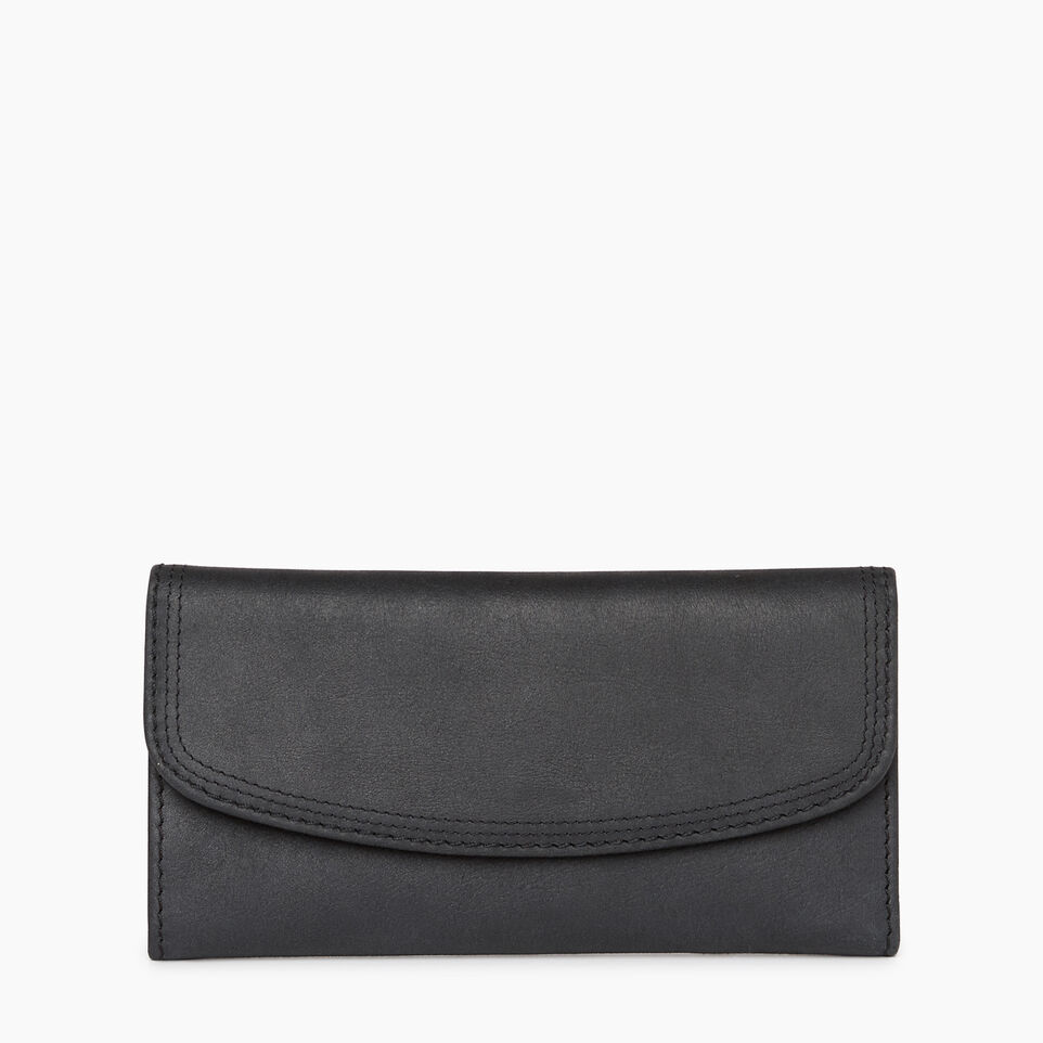 Roots-Leather Categories-Canmore Wallet Tribe-Jet Black-A