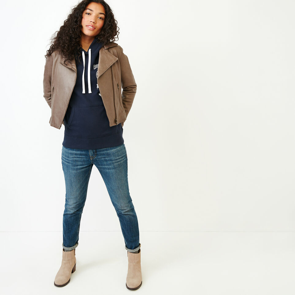 Roots-Women Our Favourite New Arrivals-Stamps Kanga Hoody-Navy Blazer-B