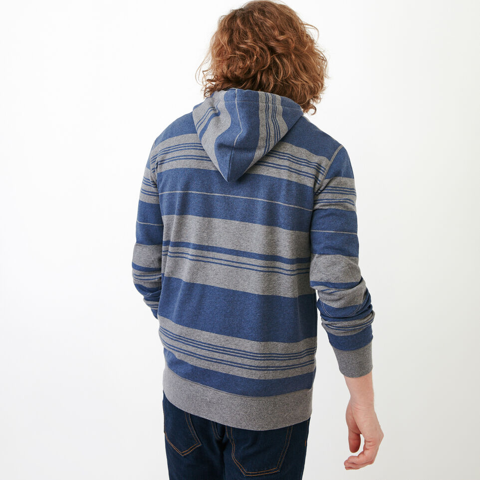Roots-undefined-Rugby Stripe Zip Hoody-undefined-D