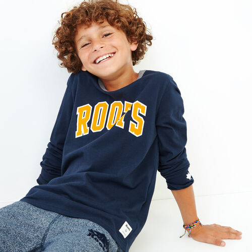 Roots-Kids Our Favourite New Arrivals-Boys Nova Scotia T-shirt-Navy Blazer-A