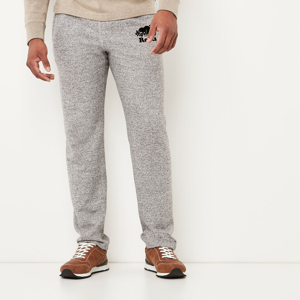 Roots-undefined-Roots Salt and Pepper Heritage Sweatpant-undefined-A