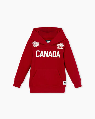 Roots-Sale Toddler-Toddler Canada Kanga Hoody-Sage Red-A