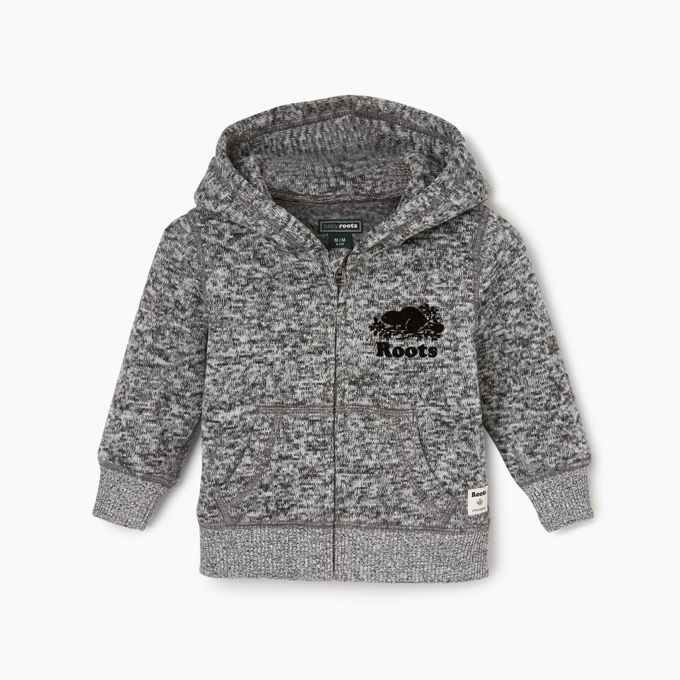 Roots-undefined-Baby Sweater Fleece Full Zip Hoody-undefined-A