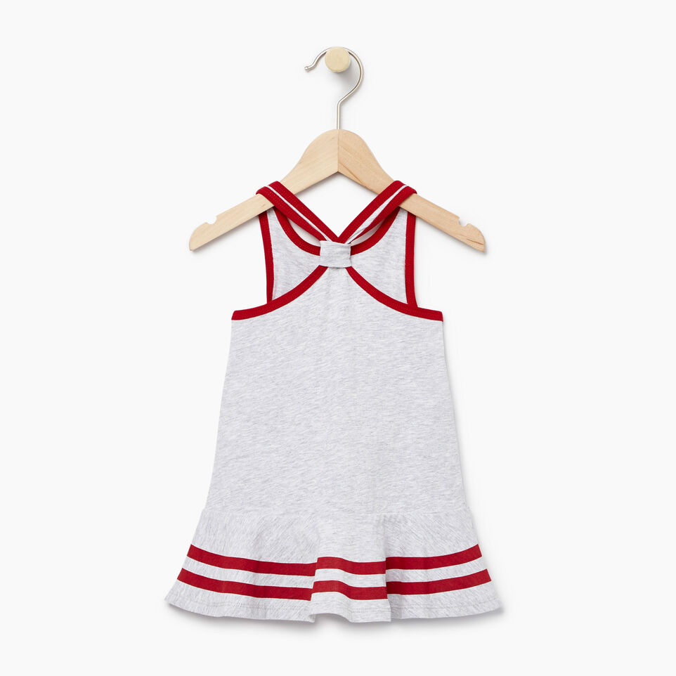Roots-Kids New Arrivals-Baby Canada Tank Dress-Snowy Ice Mix-B