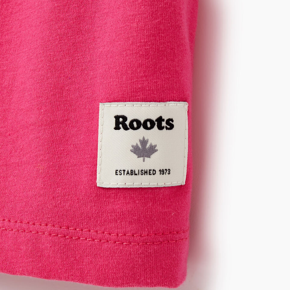 Roots-Women Our Favourite New Arrivals-Womens Cooper Beaver T-shirt-Fuchsia Purple-C
