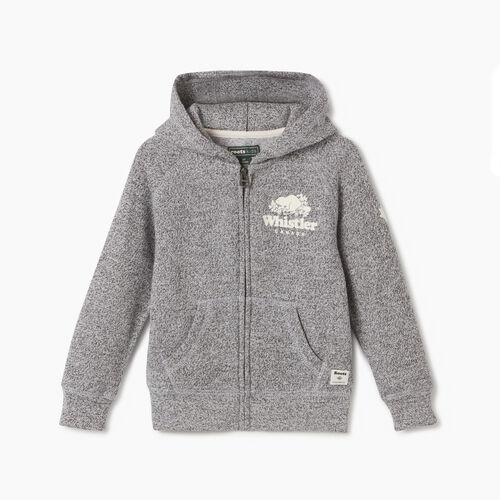 Roots-New For May City Collection-Toddler Whistler Ski City Full Zip Hoody-Salt & Pepper-A