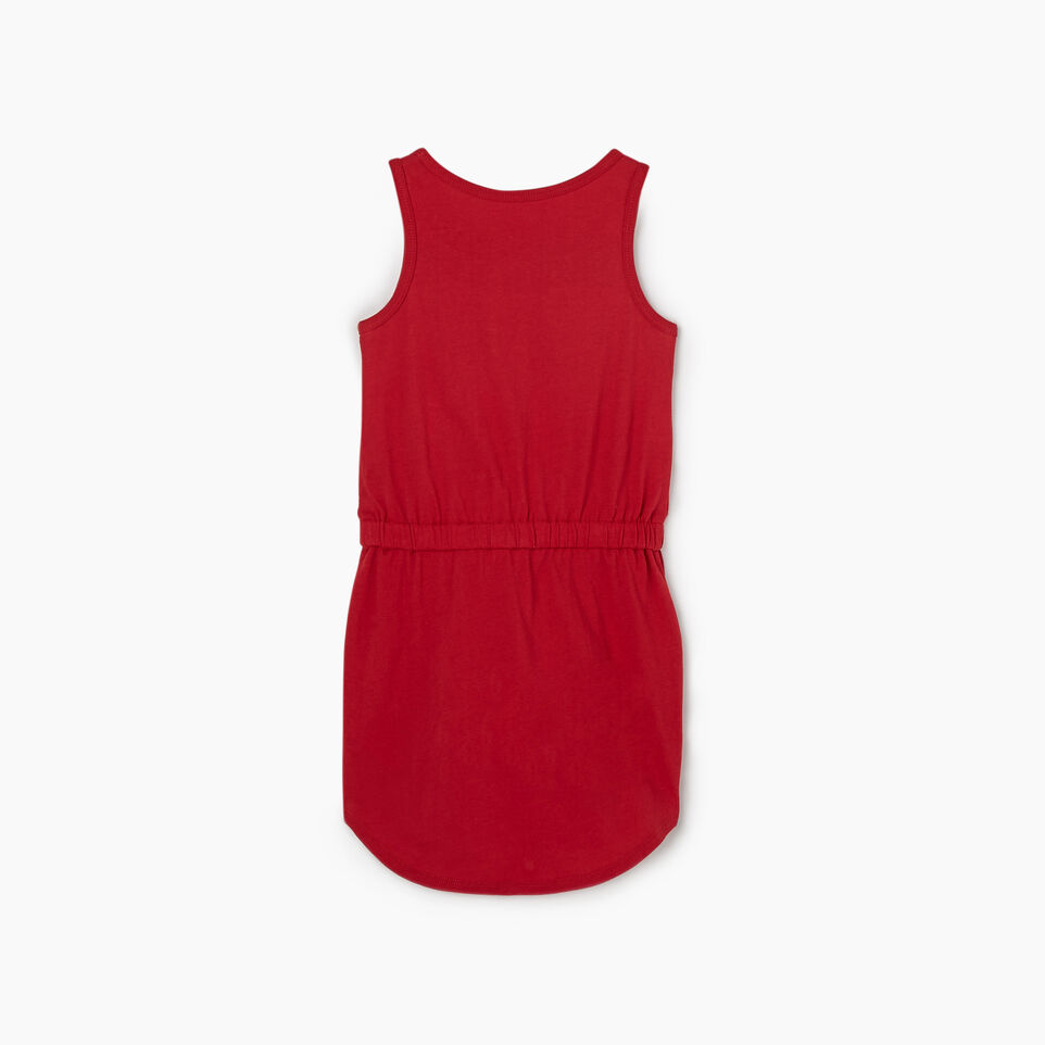 Roots-Kids New Arrivals-Toddler Blazon Dress-Sage Red-B