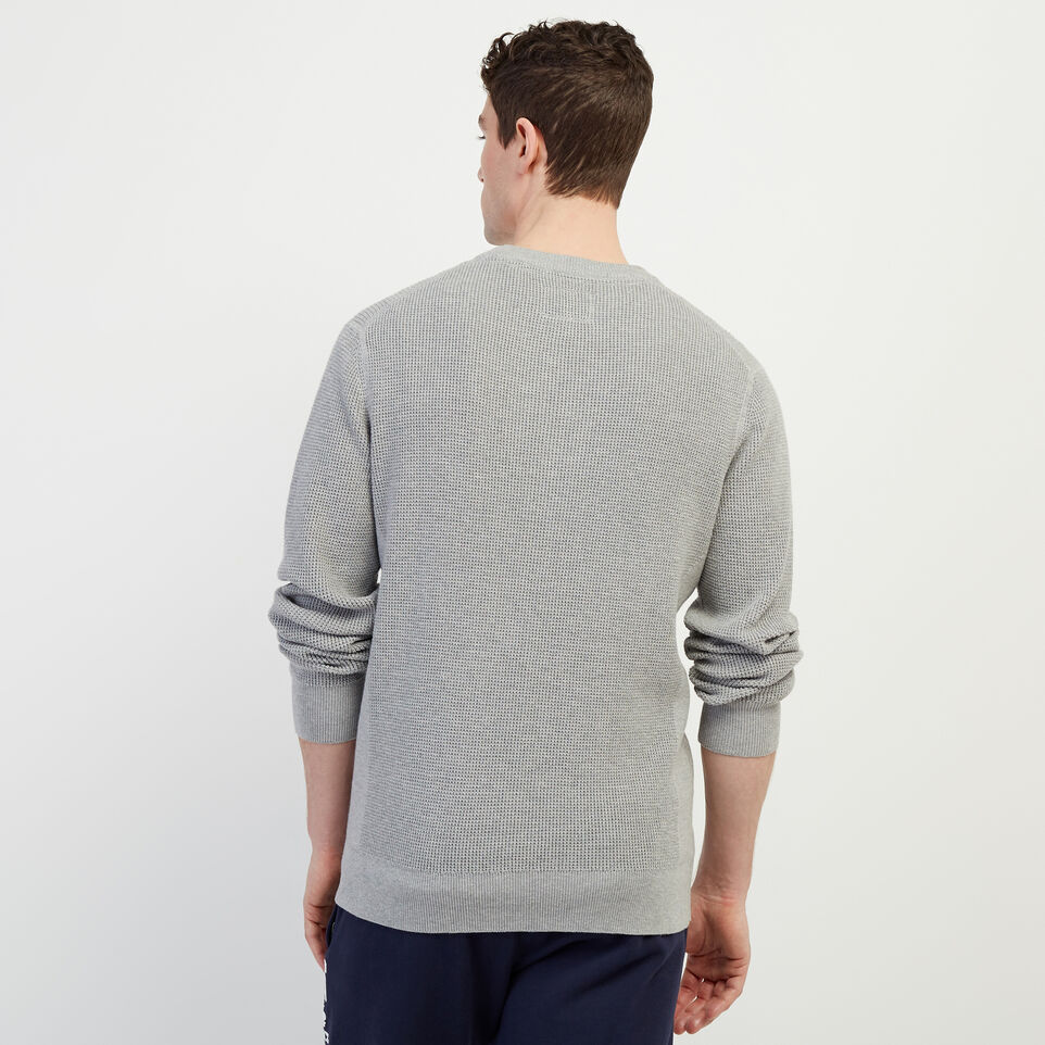 Roots-New For February Journey Collection-Journey Sweater Crew-Grey Mix-D
