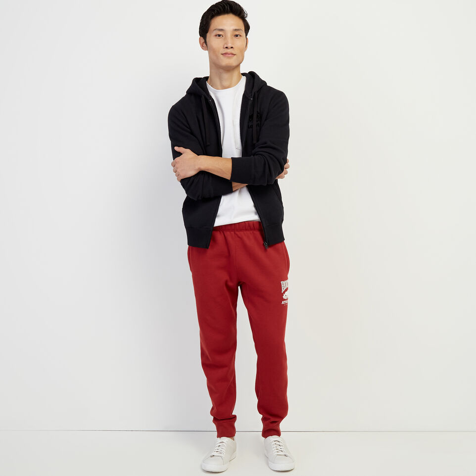 Roots-New For March Rba Collection-RBA Park Slim Sweatpant-Rosewood-B