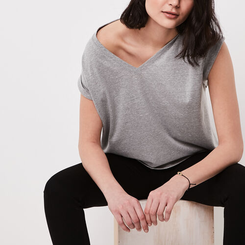 Roots-Sale Tops-Linette Top-Grey Mix-A