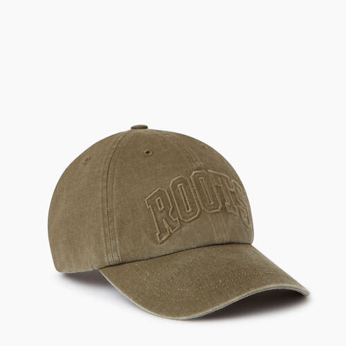 Roots-Men Bestsellers-Strathcona Baseball Cap-Fatigue-A