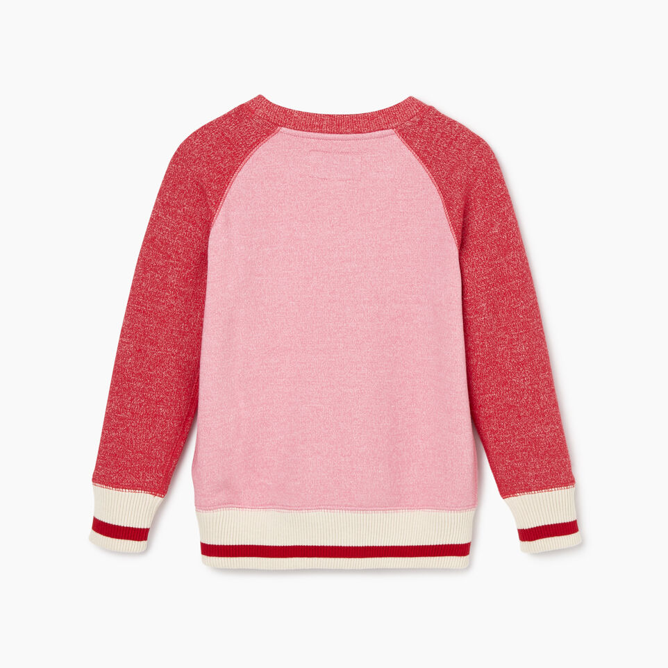 Roots-New For November Kids-Toddler Roots Cabin Cozy Sweatshirt-Cashmere Rose Pepper-B