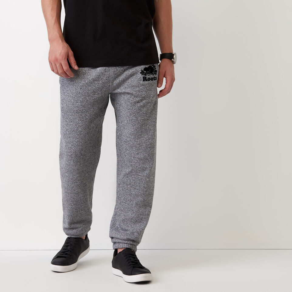 Roots-undefined-Roots Salt and Pepper Original Sweatpant - Tall-Salt & Pepper-A