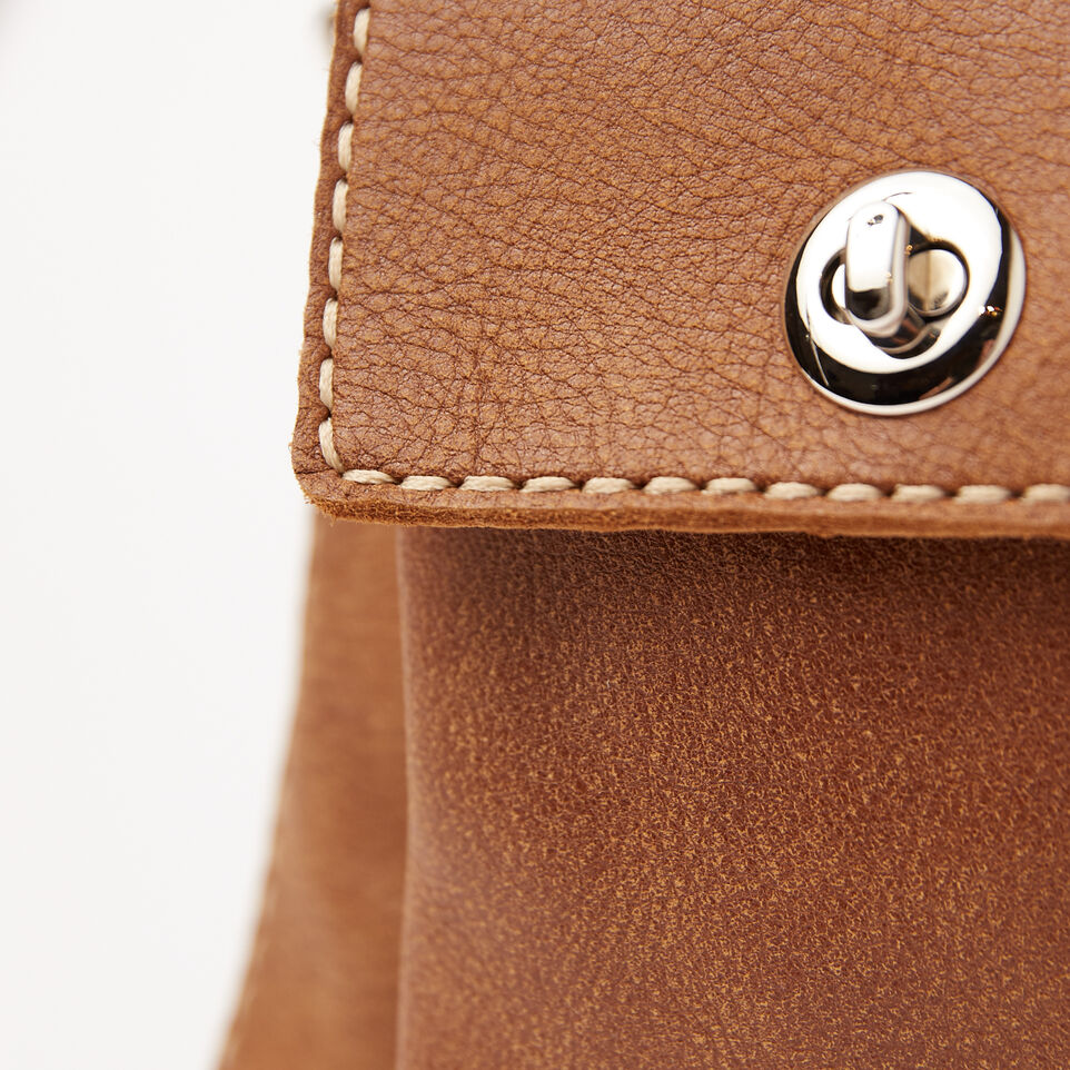 Roots-Leather Handbags-The Villager Tribe-Natural-D
