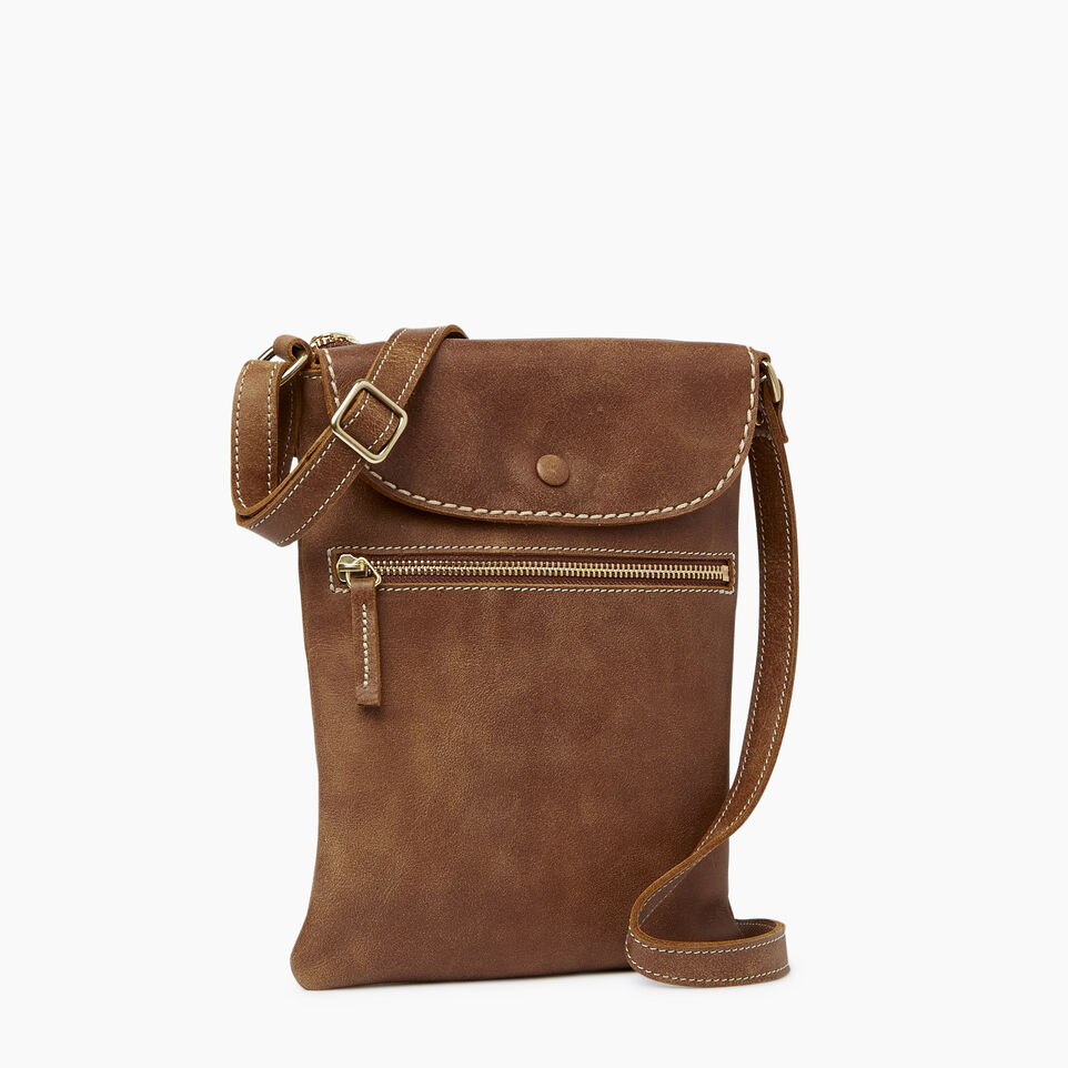 Roots-Leather  Handcrafted By Us Our Favourite New Arrivals-Riverdale Flat-Natural-A