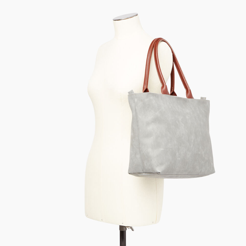 Roots-Leather  Handcrafted By Us Collections-Mont Royal Tote-undefined-B